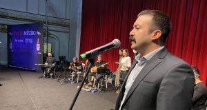 Beyoğlu'nda 'Acil Müzik' konserlerinin çekimleri yapıldı