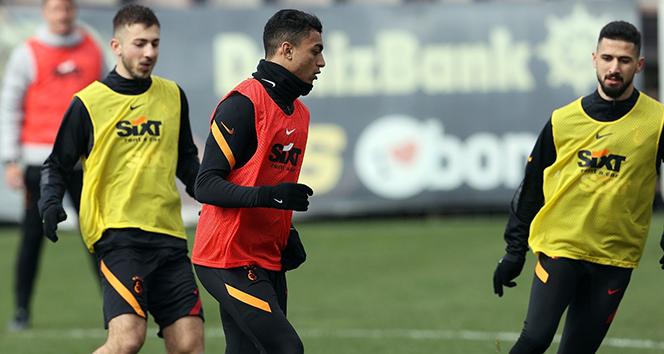 Galatasaray, MKE Ankaragücü maçı hazırlıklarını tamamladı! Feghouli kamp kadrosuna dahil edildi